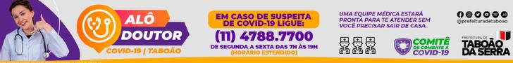 Prefeitura de Taboão da Serra - Alô Doutor - 12/6 a 18/6/2021