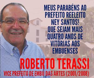 Terassi mensagem eleição Ney Santos 2020