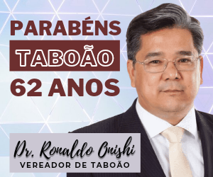 Ronaldo Onishi aniversário Taboão 2021