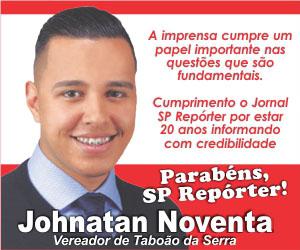 Anuncio Johnatan Noventa aniversário do Jornal SP Repóter 2020