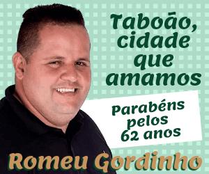 Romeu Gordinho aniversário Taboão 2021