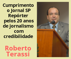 Anúncio Roberto Terassi aniversário jornal início 27 de julho 2020