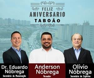 Olívio Nóbrega aniversário Taboão 2021