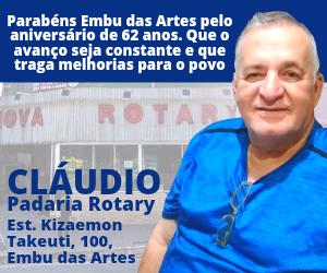 Claudio Pacificadora Rotary aniversário Embu 2021