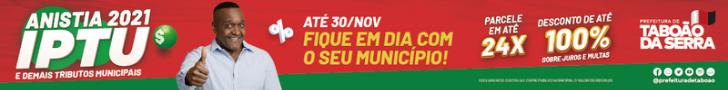 Prefeitura de Taboão da Serra - Anistia- 11/9/2021