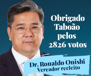 Ronaldo Onishi agradecimento votação eleição 2020