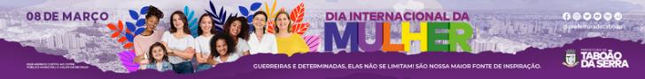 Prefeitura de Taboão da Serra - Dia da Mulher 2021