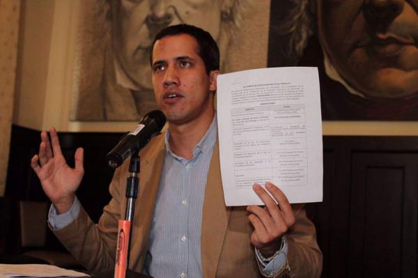 Governo Bolsonaro reconhece Guaidó como presidente interino da Venezuela