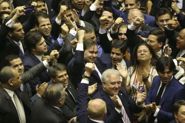 Rodrigo Maia é reeleito presidente da Câmara dos Deputados nesta sexta feira, 1º