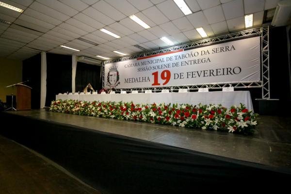 Sessão Solene em comemoração aos 60 anos de Taboão da Serra acontece na terça-feira, 19