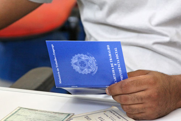 34,3 mil empregos formais foram criados no mês de Janeiro, segundo dados do Caged