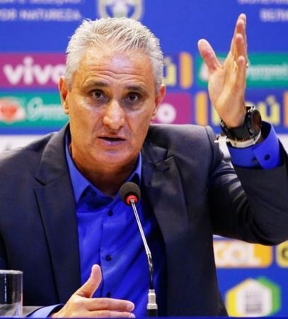 Tite convocou nesta quinta feira 28, Vinícius Júnior para o ataque Seleção Brasileira