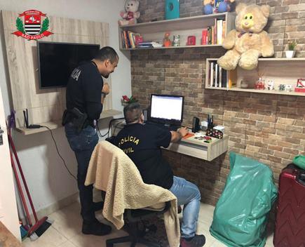 Polícia Civil prende suspeito de pedofilia que publicava foto de sobrinha de 9 anos na internet