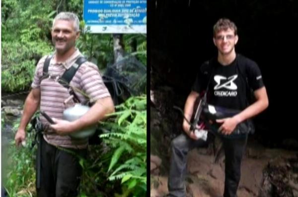 Bombeiros encontram corpos de pai e filho que morreram afogados em Embu-Guaçu