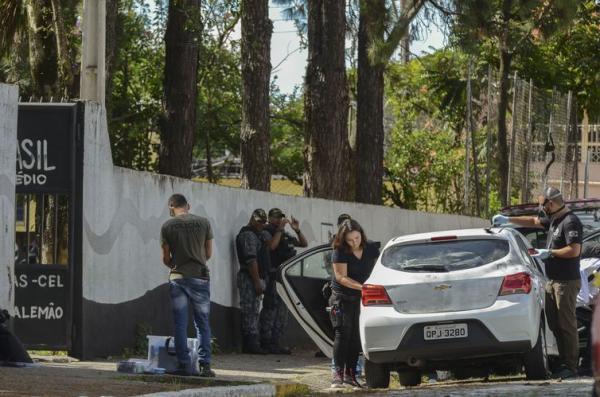 Polícia investiga participação de 3° pessoa no atentado à escola em Suzano