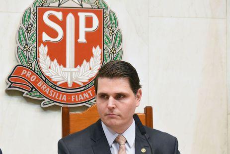 Cauê Macris foi reeleito nesta sexta-feira 15, presidente da Assembleia Legislativa do Estado de São Paulo