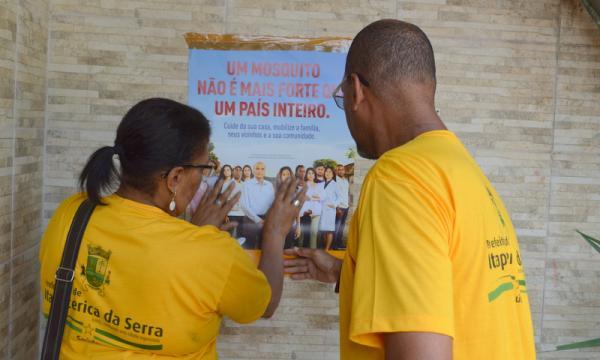 Itapecerica da Serra no combate à dengue: Prefeitura realiza ação no Jardim Jacira