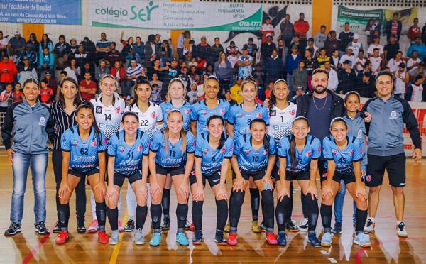 Futsal feminino do Taboão da Serra vai disputar a 1ª edição da Copa dos Campeões em Lages