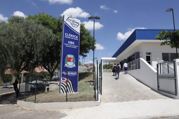 """Governo do Estado entrega clínicas do """"Saúde em Ação"""" em Indaiatuba neste sábado, 23"""
