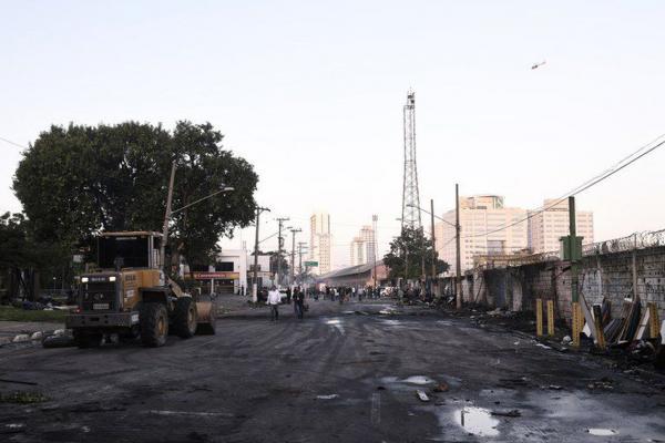 Prefeitura de São Paulo confirma uma morte em incêndio na Favela do Cimento