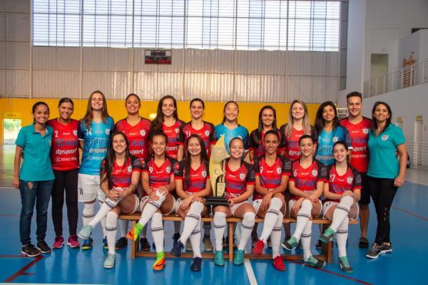 Futsal feminino de Taboão da Serra é vice-campeão da Copa das Campeãs