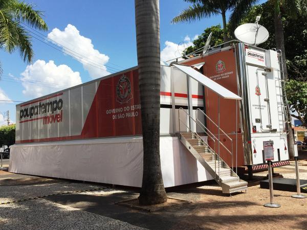 Poupatempo móvel estará atendendo em Rio Grande da Serra a partir do dia 9
