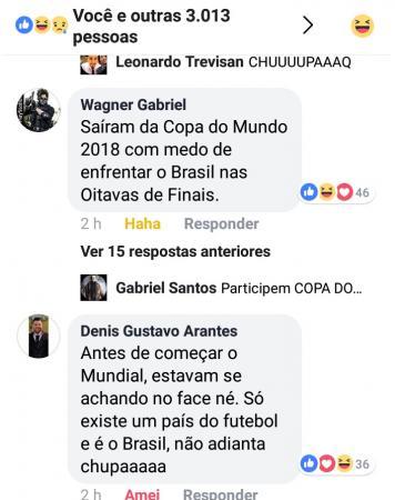 Torcida brasileira lota Facebook da seleção alemã de comentários após vexame europeu