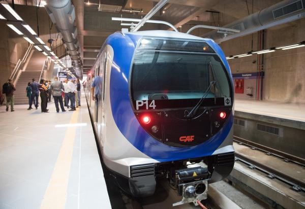 Estação Campo Belo, da linha 5-lilás do Metrô será inaugurada nesta segunda-feira, 8