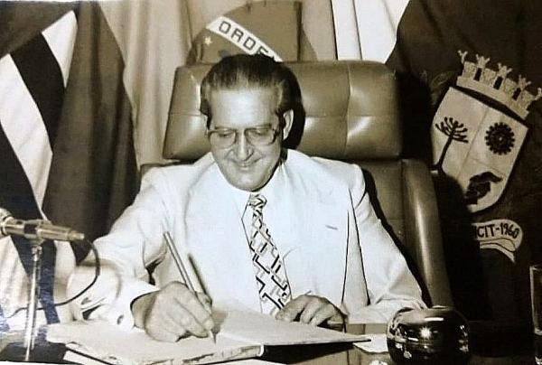 Nicola Vivilechio, o primeiro prefeito da história de Taboão da Serra
