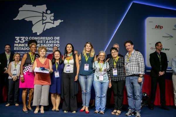 Taboão da Serra conquista três prêmios no 33º Congresso de Saúde em Águas de Lindoia