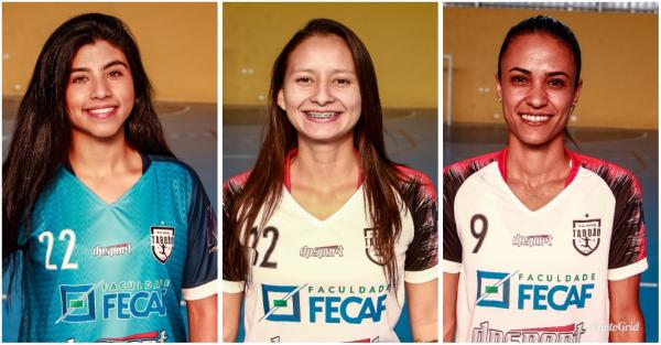 Atletas do Futsal Feminino Taboão da Serra são convocadas para a Seleção Brasileira