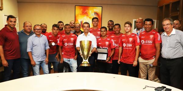 Prefeito de Osasco parabeniza equipe do Audax pela conquista do título da Série A3 do Campeonato Paulista