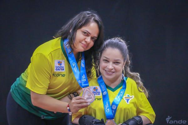 Atleta de Taboão da Serra conquista bronze em Open Mundial de bocha no Canadá