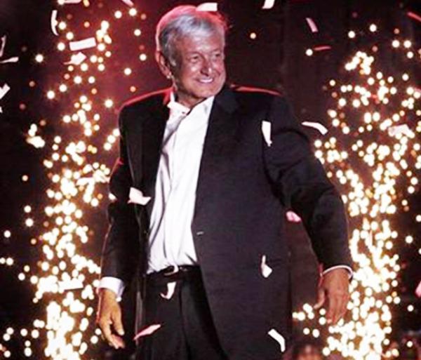 Andrés Lopez Obrador é eleito presidente do México