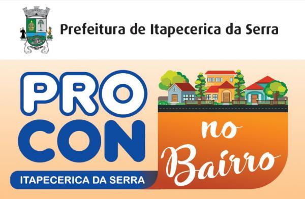 Itapecerica da Serra: Procon no Bairro estará atendendo no bairro da Lagoa a partir desta terça,14