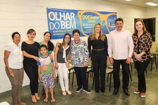 Campanha Olhar do Bem entrega 30 óculos para crianças e adultos em Taboão da Serra