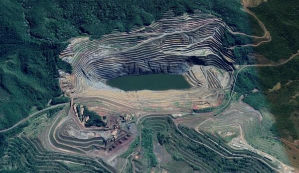 Moradores de Barão de Cocais MG estão em pânico com o risco de rompimento de barragem - Foto ilustrativa