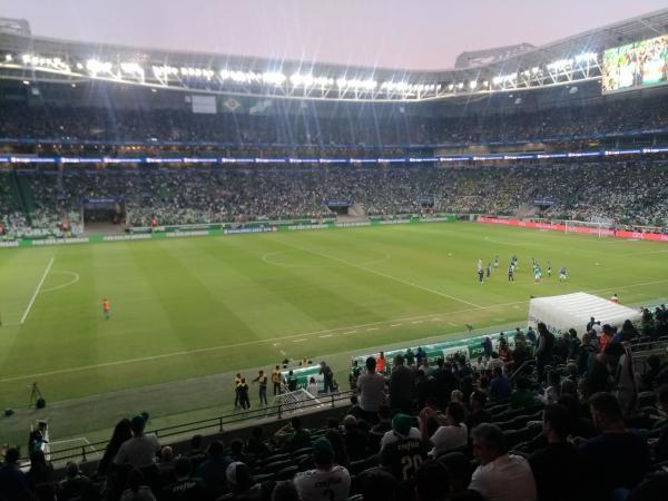 Jornal SP Repórter é recebido no Allianz Parque em vitória do Palmeiras