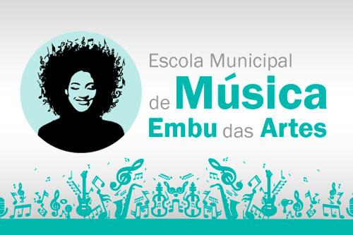 Escola de Música em Embu das Artes abre inscrições no dia 18/6