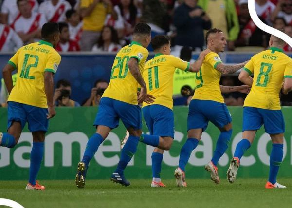 Brasil é campeão da Copa América no Maracanã