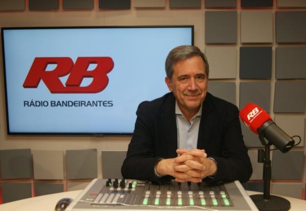 Marco Antonio Villa estreia na Rádio Bandeirantes na próxima segunda-feira