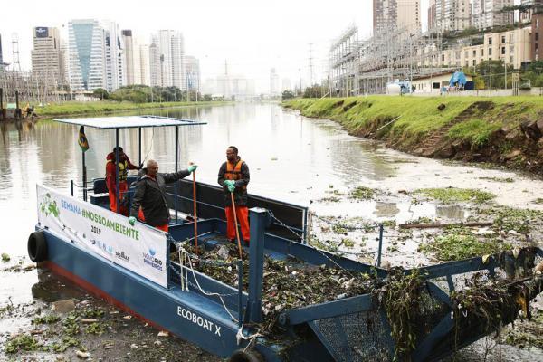 Governo de São Paulo anuncia início do desassoreamento do Rio Pinheiros