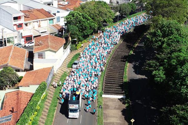 Mogi Guaçu : Caminhada Azul e Rosa será realizada no dia 20 de outubro