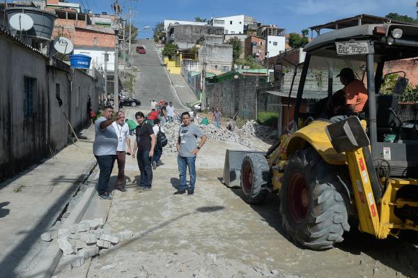 Guarulhos conclui pavimentação de mais duas ruas