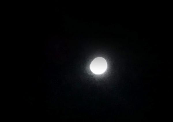 Eclipse parcial da Lua é visto em Taboão da Serra e cidades vizinhas