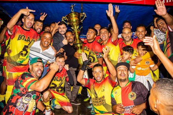 Primeira divisão do futebol de campo de Taboão da Serra tem novo campeão: Bola+1