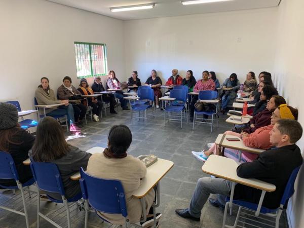 """Educação de Embu das Artes inicia curso """"Formação de Multiplicadores: Meditação para uma Cultura de Paz"""