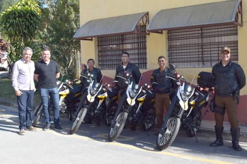 Prefeitura de São Roque adquire mais quatro motos para o Departamento de Trânsito
