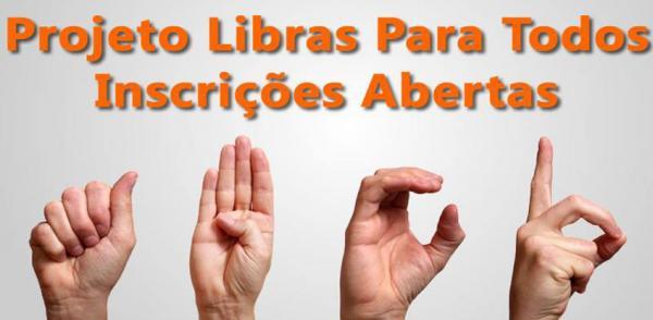 Osasco: inscrições gratuitas para o Curso de LIBRAS prorrogado até 31/7