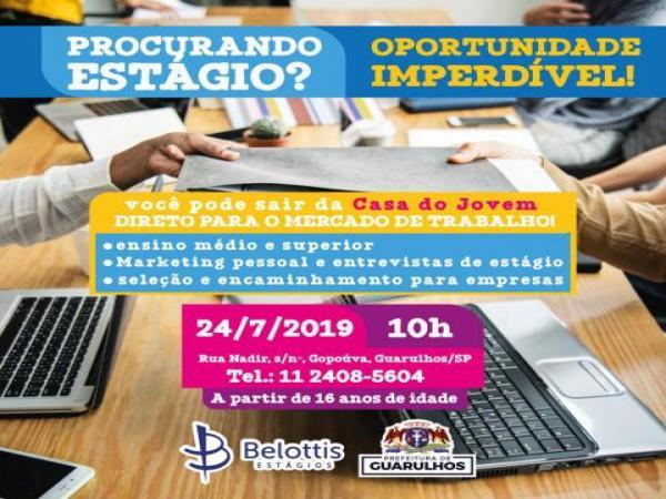 Guarulhos oferece oportunidades de estágio; saiba mais